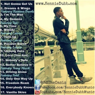 Kennie Dubb - Unsung Hero - Back Cover